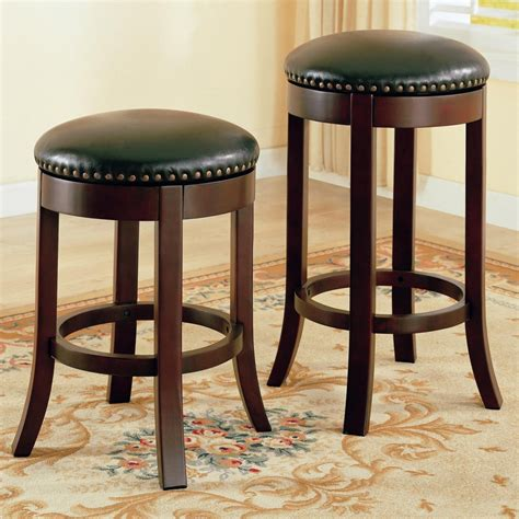 counter stools leather mix and match brown leather bar stools for the living room 2678