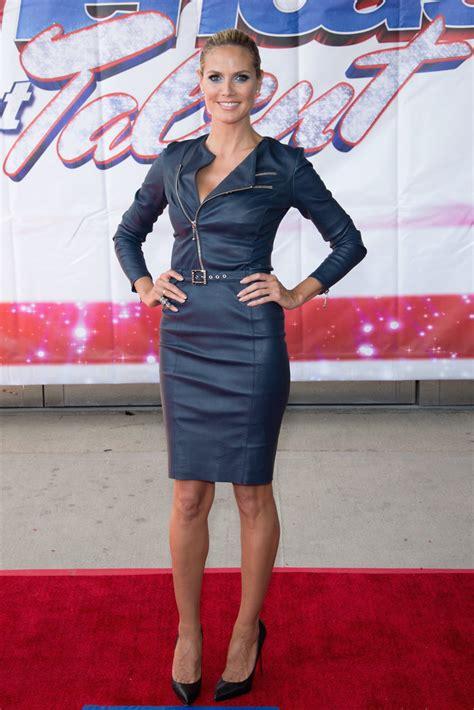 Heidi Klum Red Carpet Fashion Style Pictures