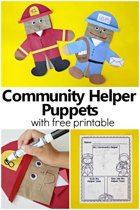 community helper puppets fantastic amp learning 903 | Community Helper Puppets pin2