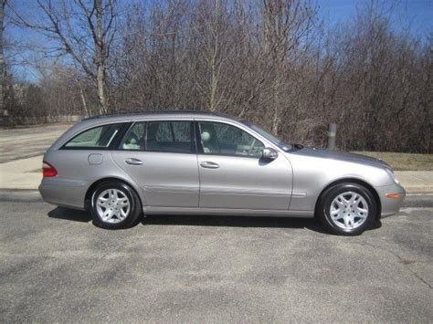 We're sorry, our experts haven't reviewed this car yet. 2004 Mercedes-Benz E-Class Wagon E320 70070 Miles Beige 3.2L V6 SOHC 18V Automa for sale: photos ...