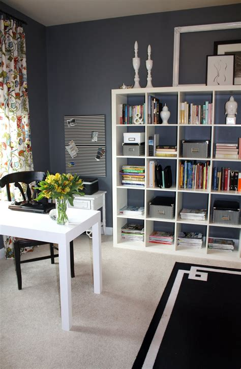 Home Office With Ikea Home Office Guest Room Combo Ideas Living Room Interior