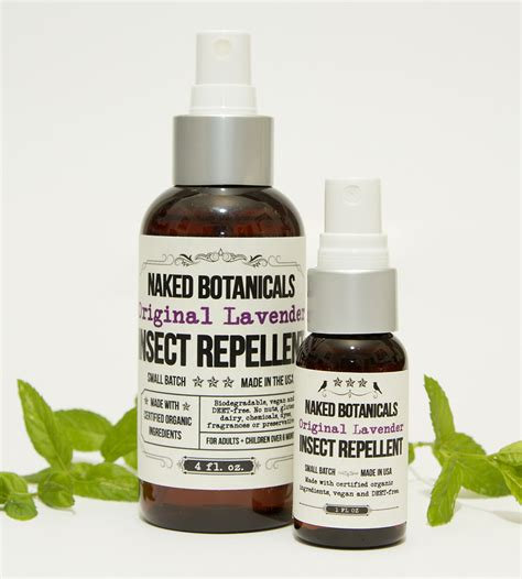 lavender bug spray lavender insect repellent travel set women s beauty naked botanicals apothecary scoutmob