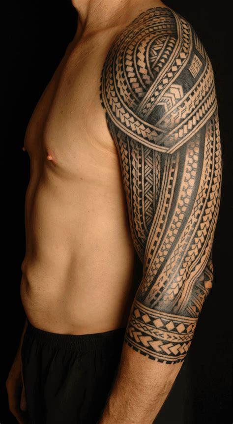 tatouage polynesien homme motifs  signification