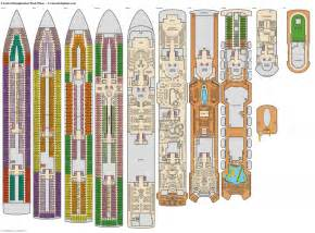 carnival floor plan exceptional cruise imagination