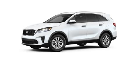 kia sorento color options