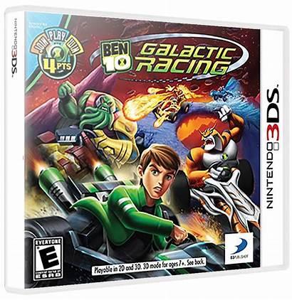 Galactic Ben Racing Launchbox 3d