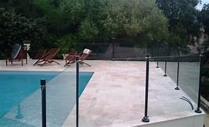 Barriere Protection Piscine : barri re moderne et transparente pour la s curit piscine oceanix black securite piscine ~ Melissatoandfro.com Idées de Décoration