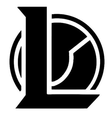 League Of Legends Small Logo Vinyl Sticker Decal League