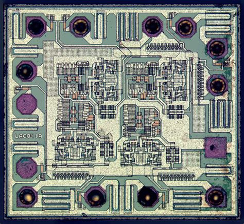 Integrated Circuit What Are All The Tiny Features