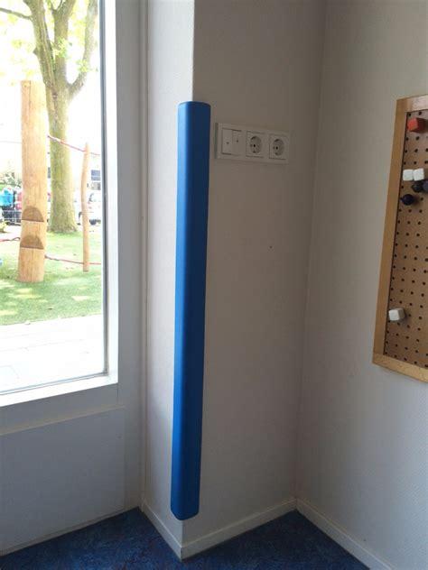 protection angle de mur deluxe bleu interieur exterieur