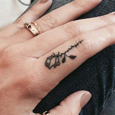 cool finger tattoo ideas  women page    stayglam
