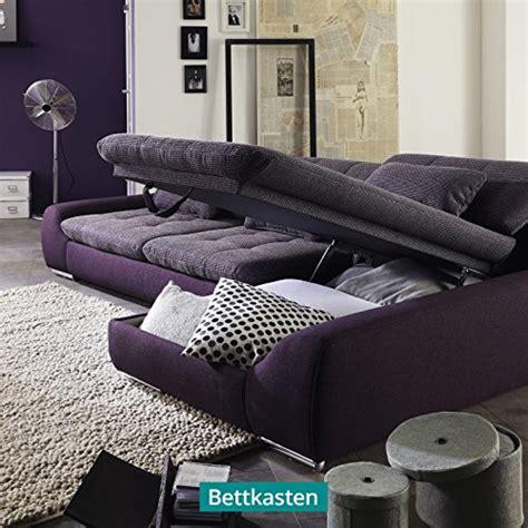 polsterecke mit schlaffunktion und bettkasten polsterecke wohnlandschaft sofa spike mit schlaffunktion und bettkasten ecksofa schlafsofa
