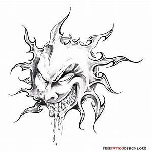 evil tattoo flash | 65 Sun Tattoos | Tribal Sun Tattoo ...