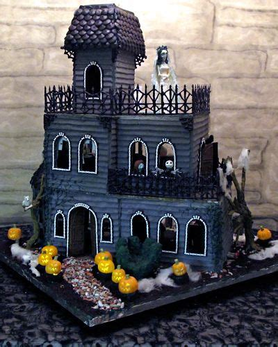 top   size halloween gingerbread house designs