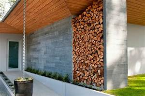 überdachung Für Kaminholz : brennholz lagern kann auch kunstvoll und sthetisch sein ~ Michelbontemps.com Haus und Dekorationen