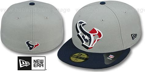brand houston texans bucket hat navy blue