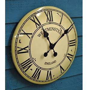 Vintage, Style, Westminster, Wall, Clock, By, Garden, Selections