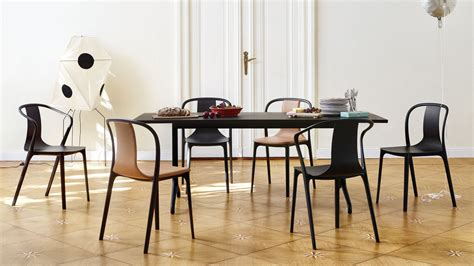 chaise bouroullec vitra belleville table dining