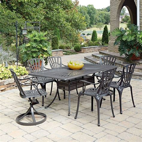 home styles largo 7 patio dining set 5561 3758 the