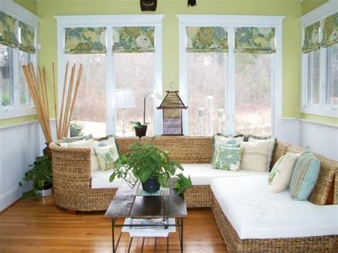 creative patterned roman shades hgtv