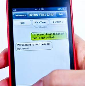 Crisis Text Line Lives In The Balance Open Referral
