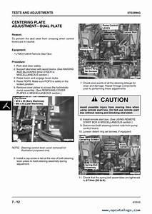 John Deere 260  270 Skid Steer Loaders Technical Manual