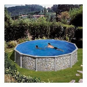 Sable Piscine Hors Sol : piscine hors sol corcega gre diam 550 cm h132 filtre sable ~ Farleysfitness.com Idées de Décoration