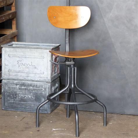chaise industriel chaise atelier