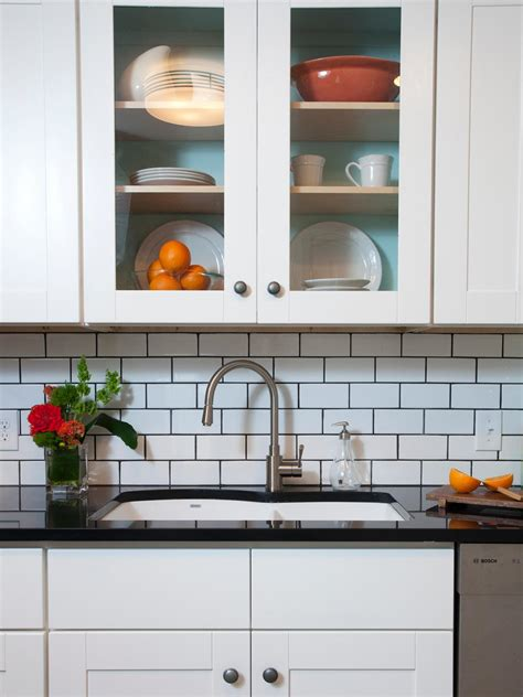 white kitchen backsplash tile subway tile backsplashes hgtv