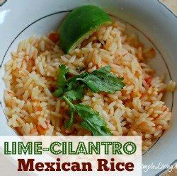 cilantro lime mexican rice   dutch oven simple