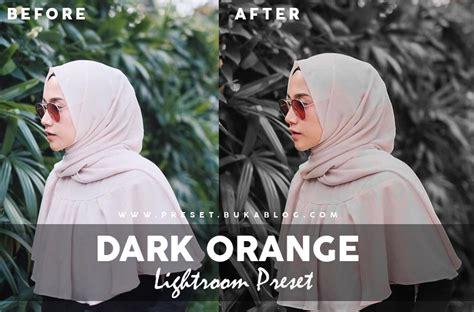 Lightroom 4, 5, 6, 7, cc (creative cloud) and. Free Dark and Orange Lightroom Preset XMP + DNG ...