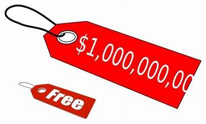 Tag Clipart Dollar Clip Million Label Vector