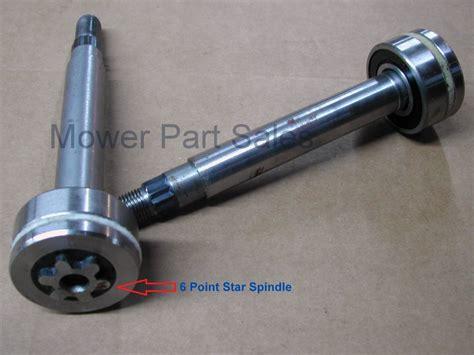 Craftsman 48 Mower Deck Spindle by Spindle Mandrel Pulley Fits 42 48 Deck Models Husqvarna