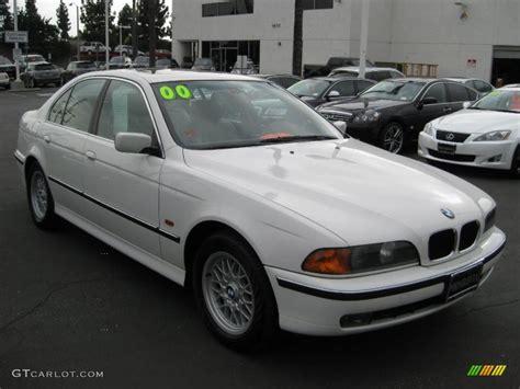 Alpine White 2000 Bmw 5 Series 528i Sedan Exterior Photo
