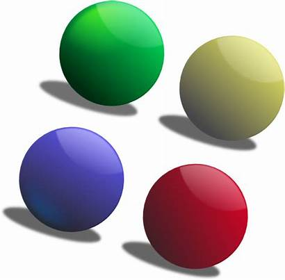 Balls Colour Clip Clipart Clker Clipartmag Vector