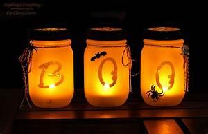 Halloween Basteln Gruselig : gruselige halloween einmachgl ser basteln die besten diy bastelideen ~ Whattoseeinmadrid.com Haus und Dekorationen