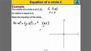 Equation Of A Circle 2