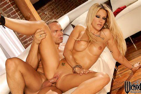 Jessica Drake Is Sitting In A Office