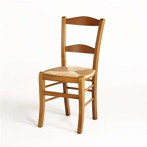 chaise en bois et paille 4 pieds vente en ligne