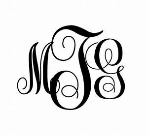 25 best ideas about circle monogram font free on With create a monogram free online