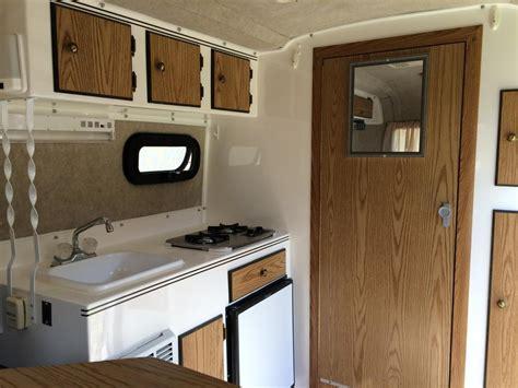 sold  ft scamp trailer  bathroom