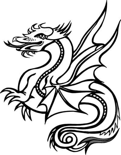 Dragon Coloring Pages Bestofcoloring com