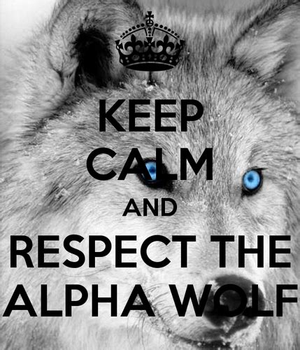Alpha Wolf Wolf Pack Wallpaper by Diana S Wolf Pack Images Keep Calm And Respect The Alpha
