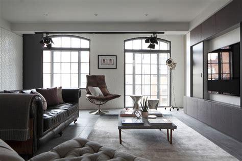 living room apartment luxury loft apartment living room industrial living Industrial
