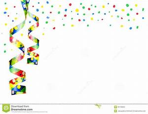 Confetti clipart party decoration - Pencil and in color ...