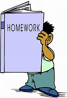 Image result for cartoon homework