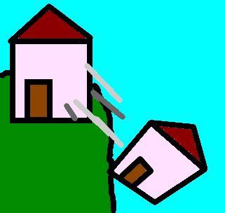 A Casa Caiu  Desenho De Crepusculo77 Gartic