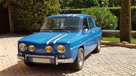 renault gordini r8 renault 8 gordini 1300 classic racing annonces