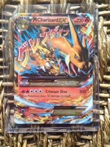 Mega Charizard Ex Pokemon Rare Cards