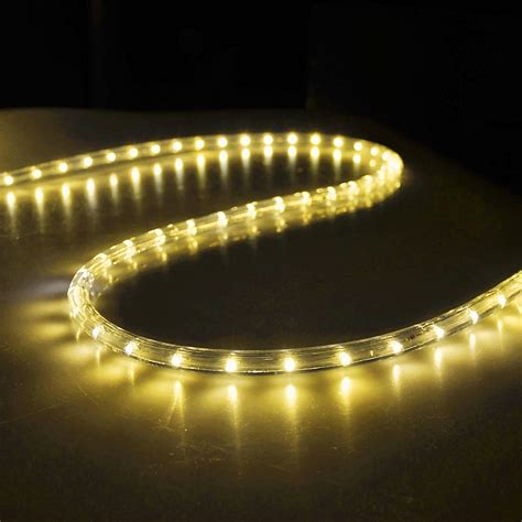 50' Led Rope Light Flex 2wire Outdoor Holiday Décor